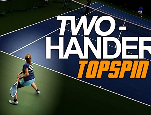 How to: Hit HEAVY Topspin on Your Two Handed Backhand | Tennis Lesson