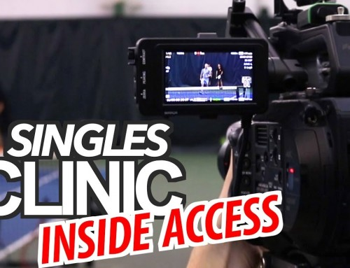 Singles Domination Tennis Clinic (Inside Access)
