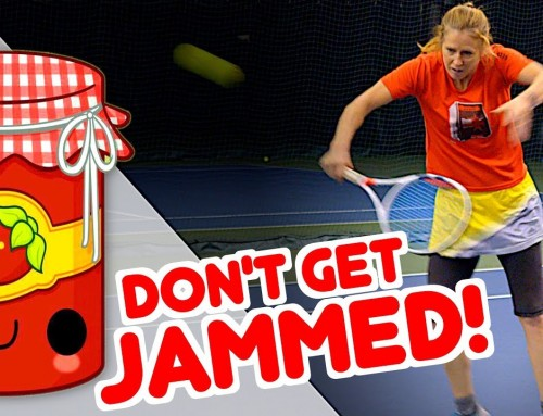Don't get Jammed! (Volley Footwork & Spacing Solution)