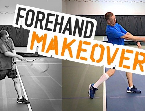 Total forehand MAKEOVER (tennis lesson)