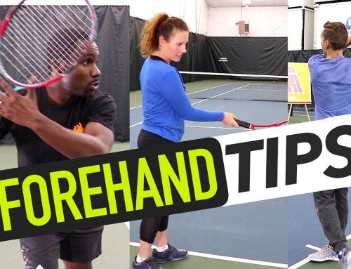FOREHAND TIPS: Topspin, Body Position & Inside-Out