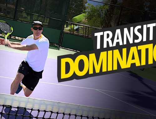 Transition Game Footwork for Better Balance & Volley Control – tennis lesson