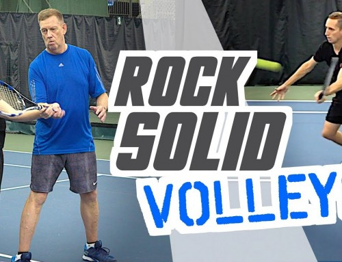 the Secret to ROCK SOLID volleys – tennis lesson