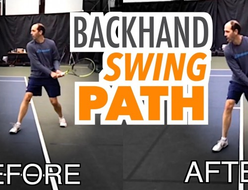 Backhand SHAPE + SPIN (swing path lesson)