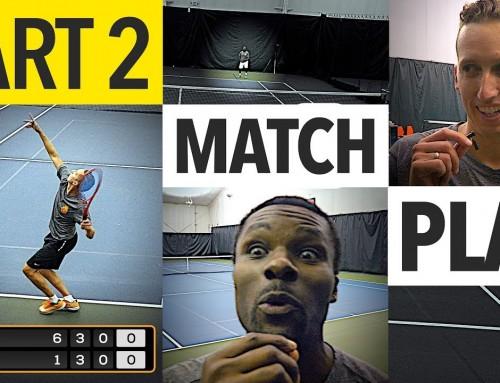 NTRP 5.0 vs 5.5 Tennis Match Play – PART 2 (Ian vs. Kevin)