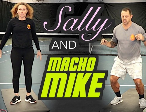 Meet Sally and Macho Mike: Tennis Fitness Extraordinaires