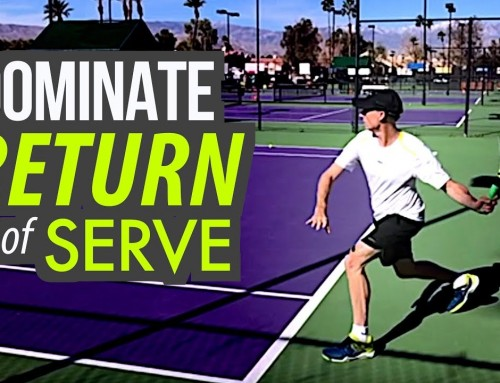 DOMINATE Return of Serve (Footwork and Swing Path Tennis Lesson!)