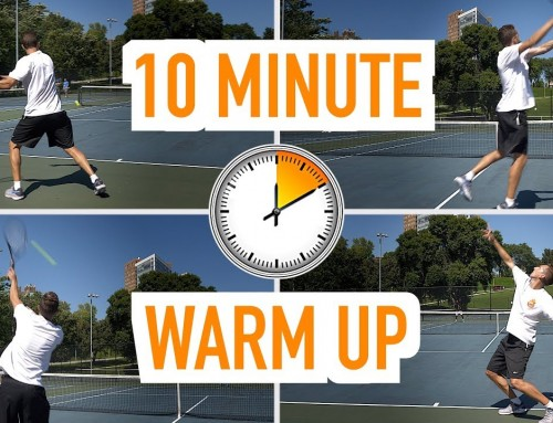 The BEST 10-minute Warm Up (tennis match preparation)