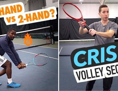 1-Hand vs 2-Hand Volley / Crisp Volley SECRET