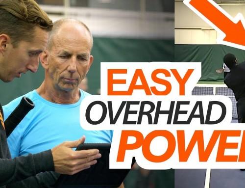 Easy Overhead POWER – tennis lesson