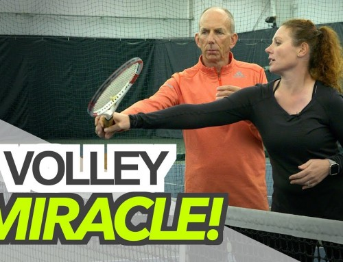 A Volley MIRACLE! – tennis lesson