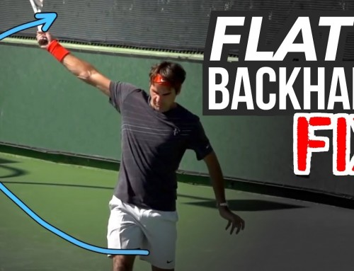 Flat Backhand FIX (one hander power and spin)