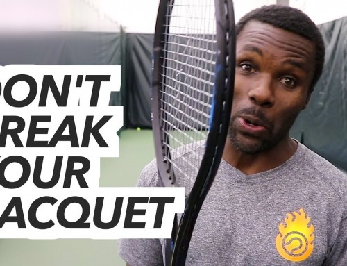 DON'T BREAK YOUR RACQUET (Kevin vs Ian – ET Vlog)