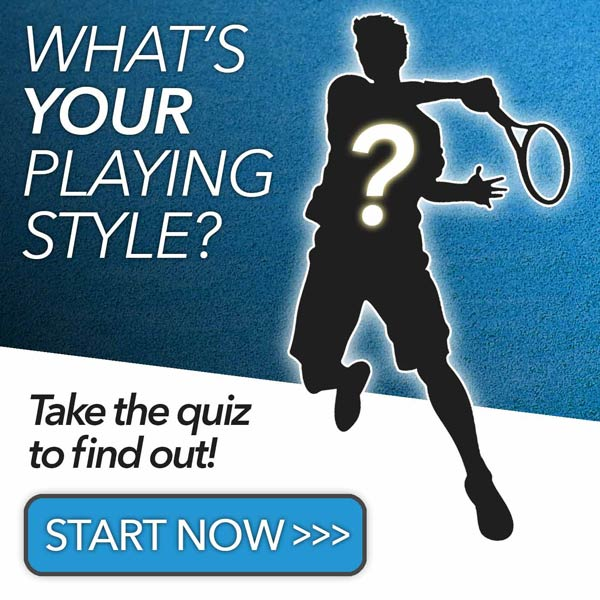 Tennis Game Style Quiz