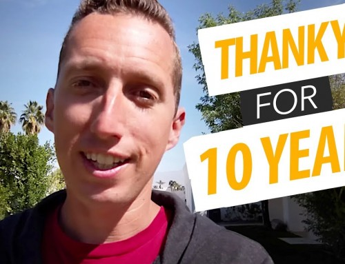 THANK YOU for 10 Years on YouTube!