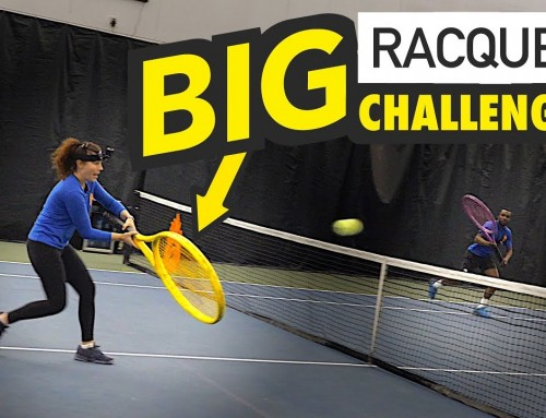 BIG Racquet Challenge (short court tennis game)