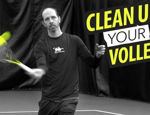 CLEAN UP your Volleys – forehand volley lesson