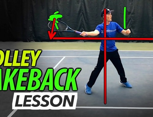 Volley TAKEBACK lesson (how to clean up your volleys)