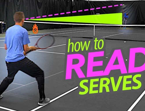 How to READ Serves (and where to focus) on return of serve
