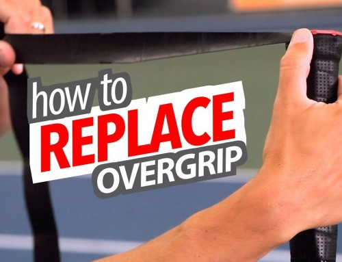 How to REPLACE your Overgrip (the right way)