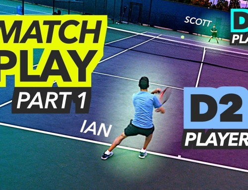 NTRP 5.0 Tennis Match Play – PART 1 (Ian vs Scott)