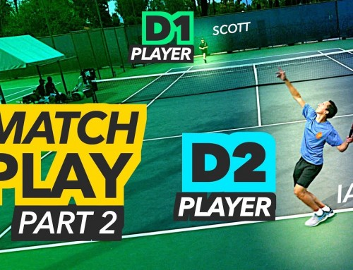 NTRP 5.0 Tennis Match Play – PART 2 (Ian vs Scott)