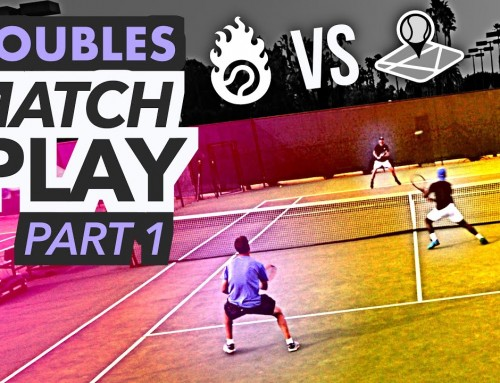 NTRP 5.0 Doubles Tennis Match Play – PART 1 (Ian & Kevin vs. Scott & Nate)