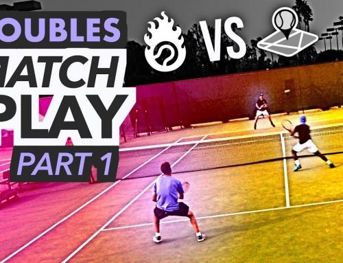 NTRP 5.0 Doubles Tennis Match Play – PART 1 (Ian & Kevin vs. Scott & Nate)