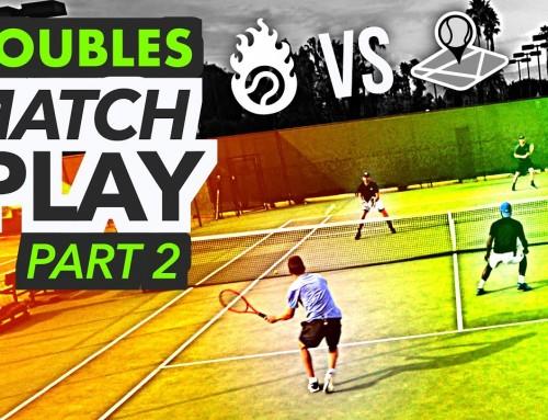 NTRP 5.0 Doubles Tennis Match Play – PART 2 (Ian & Kevin vs. Scott & Nate)