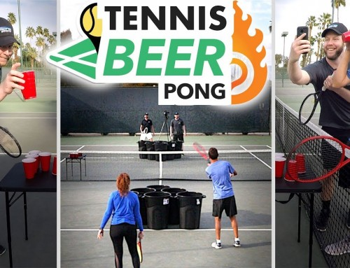 Tennis Beer Pong! (ET vs. Play Your Court tiebreaker)