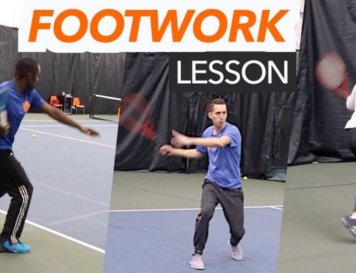 Approach Shot / Deep Ball / Return of Serve FOOTWORK lesson