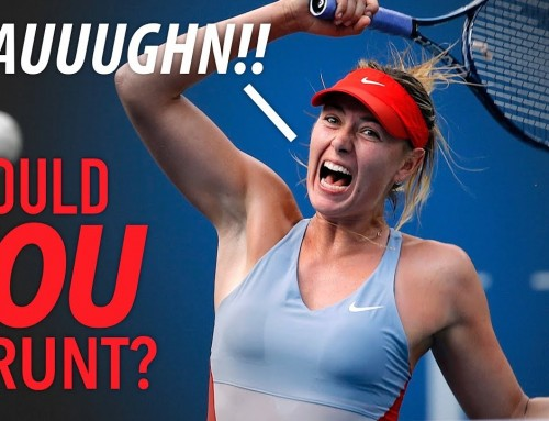 Should You GRUNT? – tennis lesson