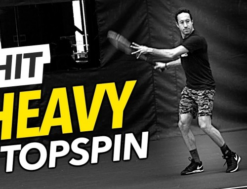 How to Hit HEAVY Topspin (flat forehand fix)