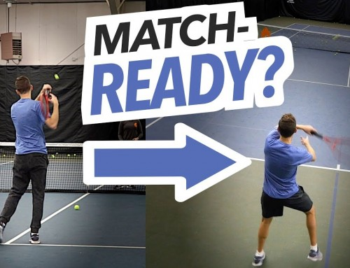 Is your new Technique MATCH-READY? (tennis lesson)