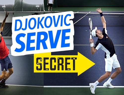Djokovic Serve Secret (body rotation lesson)