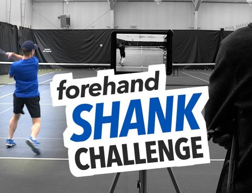 Forehand SHANK Challenge (how to fix your contact point)