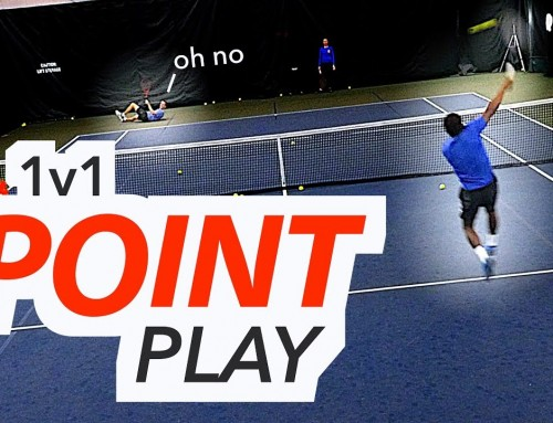 1v1 POINT PLAY – Singles Strategy & Tactics