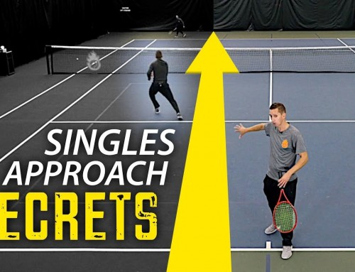 Singles Approach SECRETS (tennis strategy and technique)