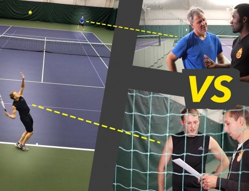 Coaching a NTRP 3.5 vs 3.5 Match – singles strategy & tactics