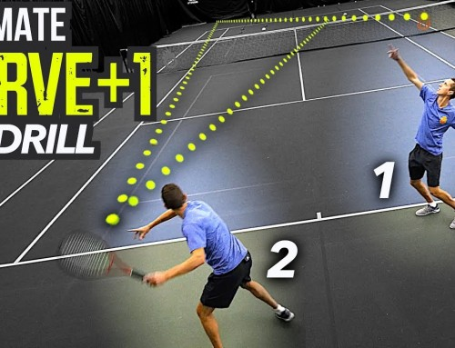 ULTIMATE Serve Plus 1 Drill (tennis singles tactics)