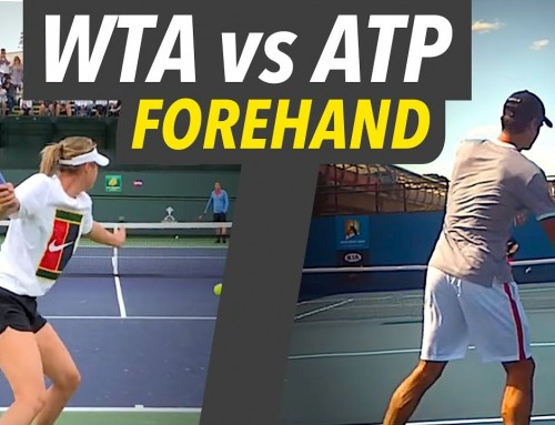 WTA vs ATP Forehand (and how to hit ATP style)