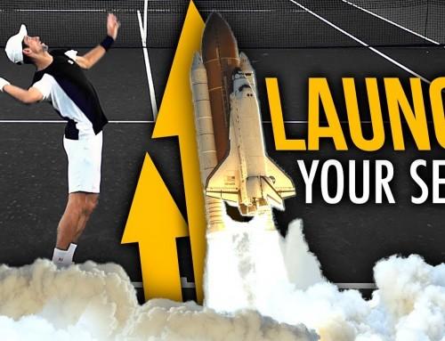 LAUNCH your serve like Djokovic (tennis serve leg drive)