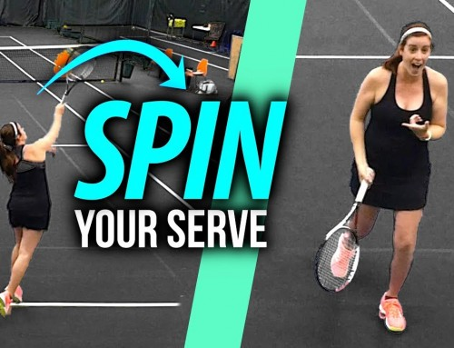 How to SPIN your Serve (swing path solution)