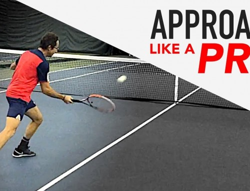 How to: Approach the Net like a PRO (tennis volley drill)