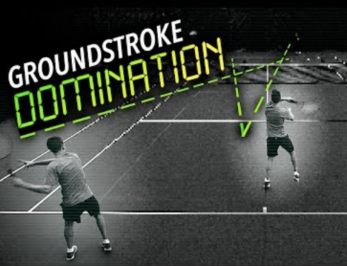Groundstroke DOMINATION Drill (singles point simulation)