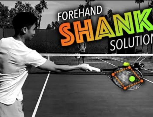 Forehand SHANK Solution (tennis lesson)