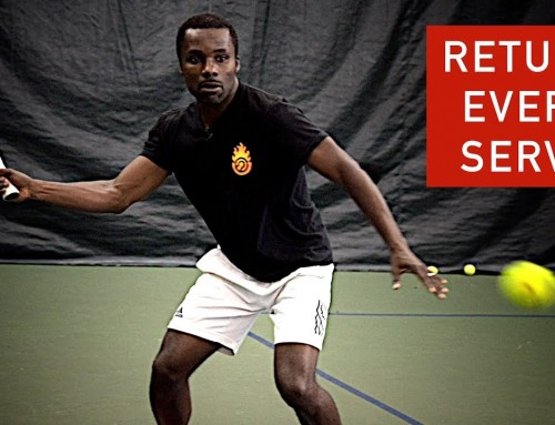 How to Return EVERY Serve Type (tennis lesson)