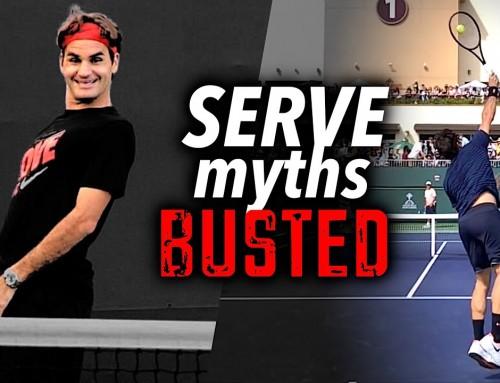 3 Serve Myths BUSTED by Roger Federer – Tennis Lesson