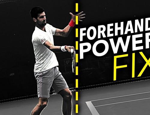 Forehand Power FIX: Where to make contact