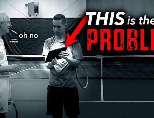 Why Your Tennis Strokes Get STUCK!